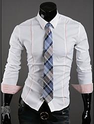 hiend Herren-Business-Herren-Freizeithemd