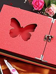 disegno diy album di farfalla