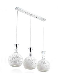 3W Pendant Light ,  Modern/Contemporary Others Feature for LED Metal Living Room / Bedroom / Dining Room
