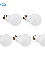 Ampoules Globe LED Blanc Chaud 5 pièces E26/E27 5W 21 SMD 2835 420-450 LM AC 100-240 V