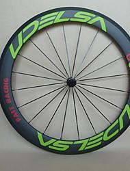 Carbon Bicycle Wheelset 60mm Clincher U Shape 700C Road Wheels