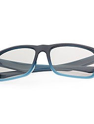 M&K Polarized Light Patterned Retarder 3D Glasses for 3D TV (Blue)