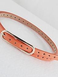 Fashion Star creux ceinture mince des femmes