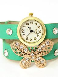 Dare U Fashion Butterfly Pattern Braided Adjustable Watch