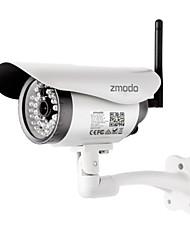 zmodo® ip bala câmera 720p visão noturna IR-cut detecção de movimento wi-fi sem fio p2p