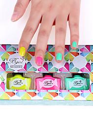3pcs нового прибытия острый запаха лак для ногтей набор доступных цветов № 2