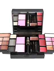Professionista 23 Color Eyeshadow + Lipgloss + Blush Makeup Palette P23-01 #