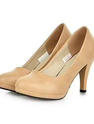 Women's Chunky Heel Platform Round Toe Pumps Shoes (More Colors)