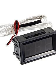 """hf 1.8 """"LCD de 3 dígitos termopar termômetro - preto (dc 4.5 ~ 40v)"""