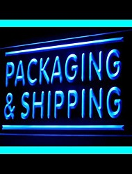 Packaging Shipping Advertising LED Light Sign
