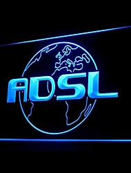 ADSL Internet Shop Light Publicidad LED Entrar