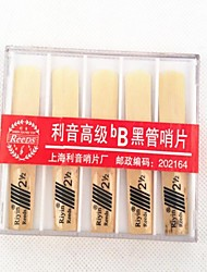 10Pcs The Clarinet Reed Plastic Box Packing #2.5
