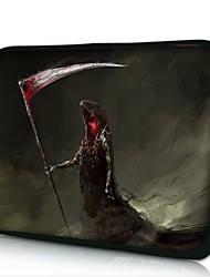 Elonno Death Sickle Neoprene Laptop Sleeve Case Bag Pouch Cover for 10'' Samsung Dell HP iPad1/2/3/4/5