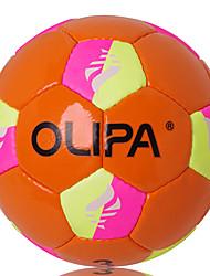Olipa estándar 3 # orange pu juego y entrenamiento de fútbol