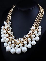 collar de perlas de la moda de las mujeres