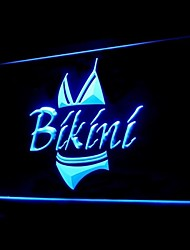 natación bikini traje de publicidad llevó la muestra de la luz