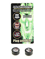 Siliconen Jelly Procap voor Xbox One Controller Analog Thumb Stick Grip Skull Finger