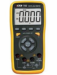 VICTOR VC70D Auto Range Multimeter, Digital Multimeter Automatically Identify Capacitance 60000UF