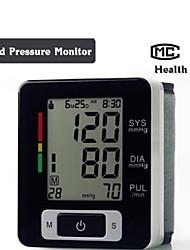 Automatic Digital Wrist Blood Pressure Upper Monitor Heart Beat Meter LCD Screen