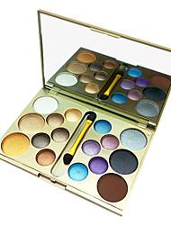 16 Lidschattenpalette Lidschatten-Palette Puder Normal Smokey Makeup / Alltag Make-up