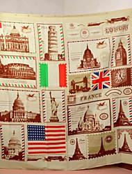 "Sellos Vina Classic franqueo ""Shower Curtain Creativo Estilo Europeo Dacron Bath"