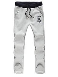 Ocio Deporte largas pantalón color puro de los hombres