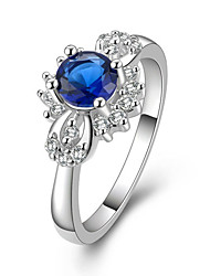 Lucky Doll Women's Elegant Gem Ring
