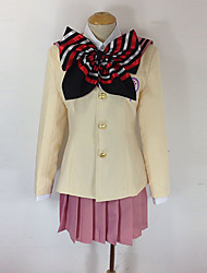 Inspired by Blue Exorcist Shiemi Moriyama Anime Cosplay Costumes Cosplay Suits School Uniforms Bowknot Long Sleeve Coat Blouse Skirt Bow