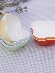 Small Bowl of Ice Cream Pudding Mold Baked Random Color ,8.5X8.5X3.8cm