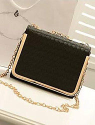 OYA Women's Fashion Lozenge Chain One Shoulder/Crossbody Bag