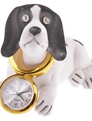 Новинка трясущейся головой собаки Настольная мини-таймер (1 х AG5 батареи)