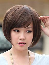 Teemee Wig Bobo Head Style In Light Brown 72011