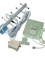 70dB 900MHz GSM telefono cellulare amplificatore del segnale GSM980 12dB esterna Yagi Antenna +9 dB Antenna Indoor