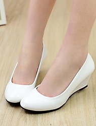 Women's Chunky Heel Round Toe Loafers Shoes (More Colors)