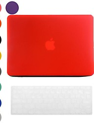 Frosted Surface Design PC Hard Case with Keyboard Cover Skin for MacBook Pro(Assorted Colors)