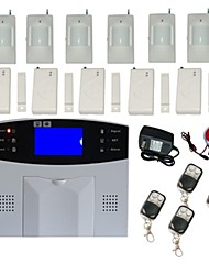 Wireless LCD GSM Autodial Home Burglar Security Alarm System