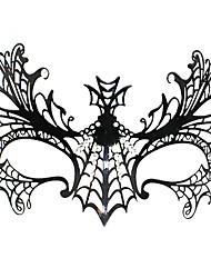 Die Spinnenkönigin Stil Black Metal Halloween Masquerade Mask