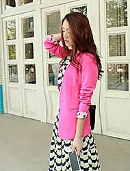 ruilifang elegante y sencillo traje chaqueta fucsia equipada