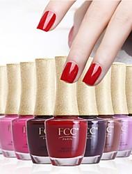 FCC ® Лак для ногтей Набор с естественной и экологически чистые Состав Kiss Me серии различного цвета