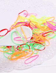 Colorful Basic Elastic Hair Band(Color Random)