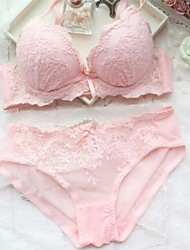 5/8 cup Bras , Push-up/Lace Bras Cotton