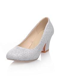 Stämmiger Absatz - Glitter - FRAUEN Absätze - Pumps / High Heels ( Lila/Silber/Gold )