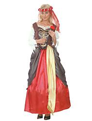 Elegante Dame der Renaissance-Frauen-Halloween-Kostüm