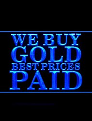 Buy Gold Best Prices Paid Advertising LED Light Sign