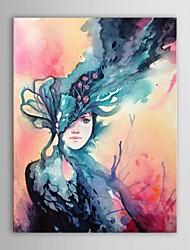 iarts®hand peints gens de peinture à l'huile de la reine du vent avec cadre étiré