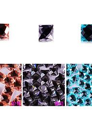 yemannvyou®10pcs de alta qualidade decorações de arte base plana strass prego no.7-9 (cores sortidas)