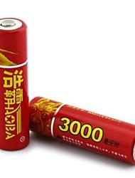 haomba 1.2v 3000mAh bateria de NiMH recarregáveis AA