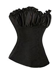 Victorian Princess Black Cotton Classic Lolita Cosret
