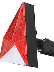 YELVQI Red stereoscopico Triangolo della bici Spia di coda