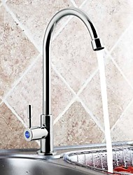 JOMOO™ Contemporary Quick Opening  Cold Kitchen Faucet Can Rotate 7713-078